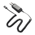 PLANTRONICS SHS1963-01 Plug-prong w/unamplified receiver for Motorola Dispatch Consoles (4 wire) 10ft. flat coil cord, Part No# 91963-01