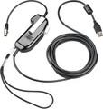 PLANTRONICS SHS2355-01 Push-to-Talk (PTT) USB Adapter, Part No# 92355-01