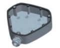 Hikvision CB-FE  Wire Intake Box, Part No# CB-FE