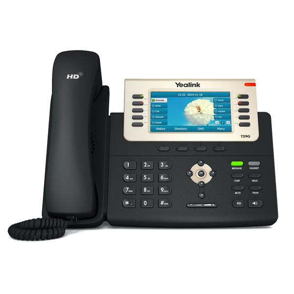 Yealink SIP-T29G 16-Line Gigabit Phone, Part# SIP-T29G
