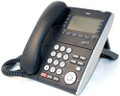NEC ITL-8LDE-1(BK)  - DT710 - 8 Button Desiless Display IP Phone Black - without back piece (Part# 690071 ) - Refurbished