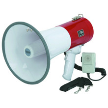 50 Watt Megaphone With Safety Siren and Hand Held Microphone