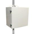 UPSPro, Steel Enclosure, 48V 100Ah Batt, 24/48V 200W, Part# UPS-STL48-100