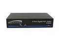 Speco P4S5G, 5-port switch, 4-port PoE, 1 port Uplink, Full Gigabit, 802.3 af/at