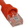 ICC PATCH CORD, CAT 6, MOLDED BOOT, 1' OR Stock# ICPCSK01OR