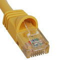 ICC PATCH CORD, CAT 6, MOLDED BOOT, 1'  YL Stock# ICPCSK01YL