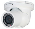 Speco CVC5845DNVW Intense-IR Series Weather Resistant Color Day and Night Dome or Turret Camera 2.8-12mm lens - White Housing,Speco CVC5845DNVW, ,2.8 mm security camera,ccd camera infrared,ir day night camera