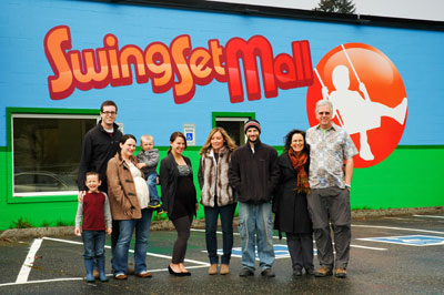 SwingSetMall.com Team and Office