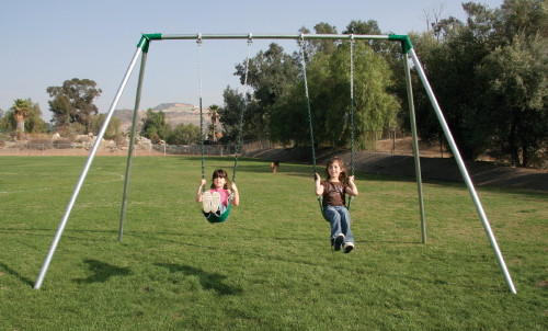 Standard 2 Legged End Frame Swing Set Swingsetmall Com