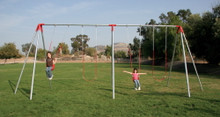 Heavy Duty 3 Legged End Frame Swing Set