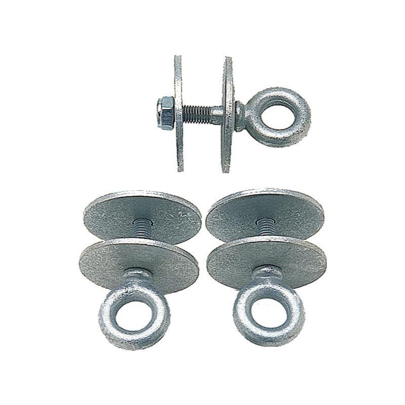 Tire eye bolt set