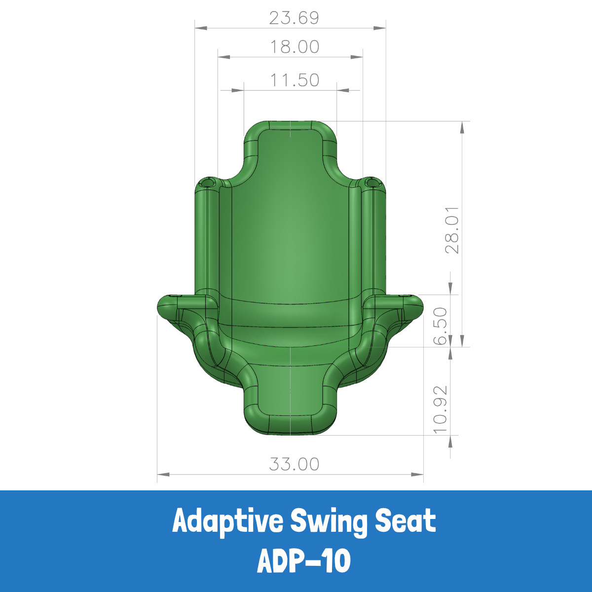 Adaptive Swing Seat (ADP-10) - Specs