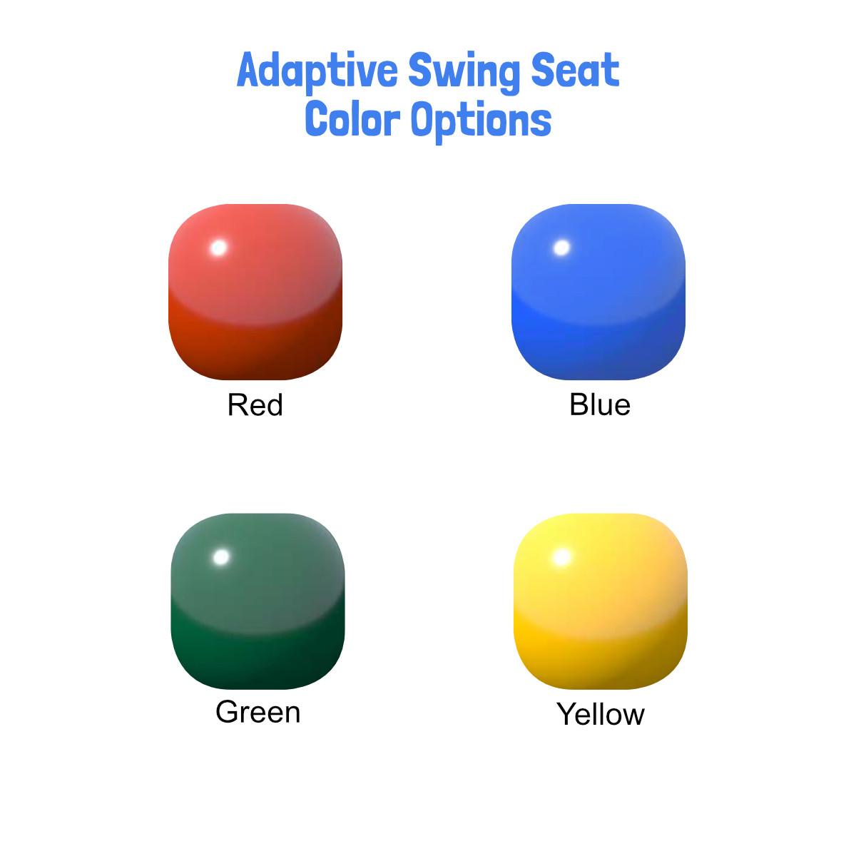 Adaptive Swing Seat (ADP-10) - Color Options