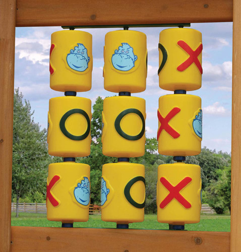 Tic Tac Toe Spinner Panel