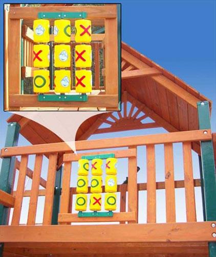 Tic Tac Toe Spinner Panel Swingsetmall Com