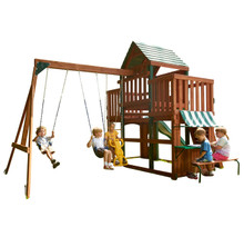 Wooden Swing Sets Swingsetmall Com