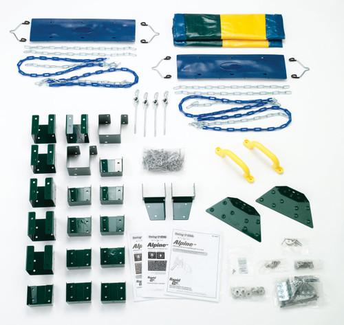 Alpine Swing Set Kit Contents