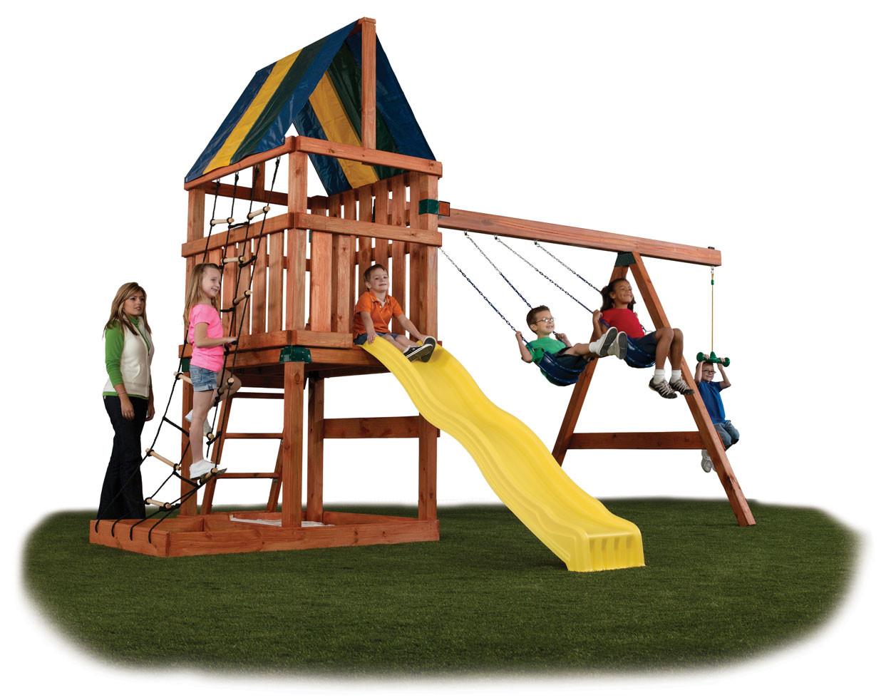 Alpine Swing Set Kit - Project 611