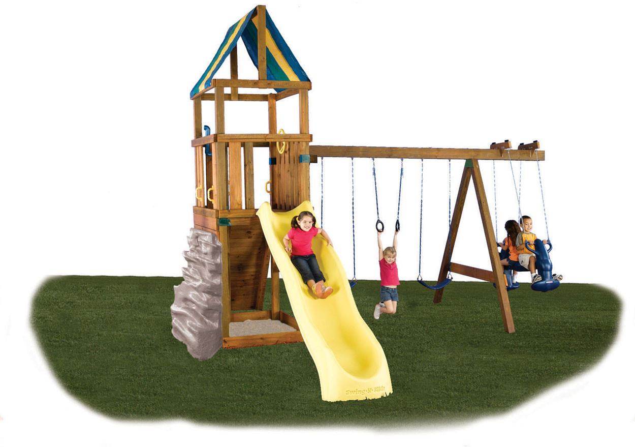 Alpine Swing Set Kit Swingsetmall Com