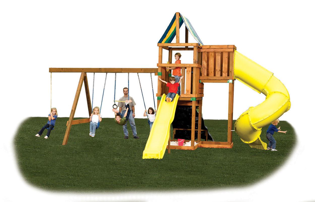 Alpine Swing Set Kit - Project 614