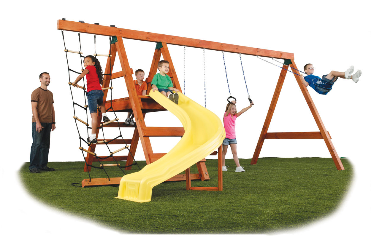 pioneer swing set kit swingsetmall com