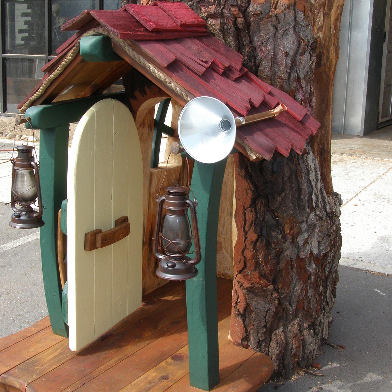 Original Outdoor Playhouse - Mini Porch