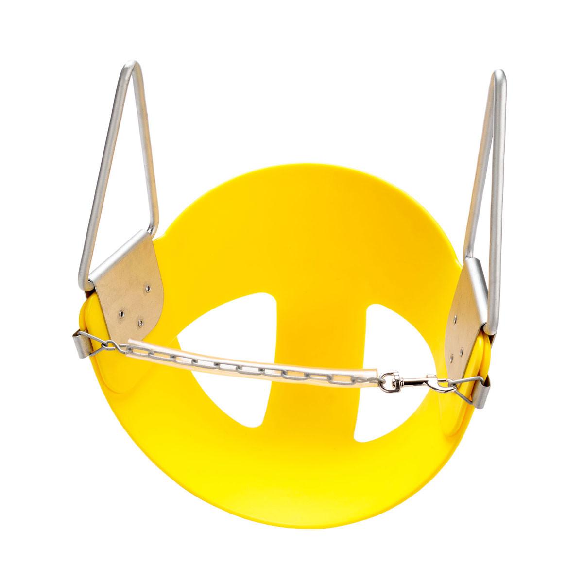 CoPoly Half Bucket Swing Seat - Yellow