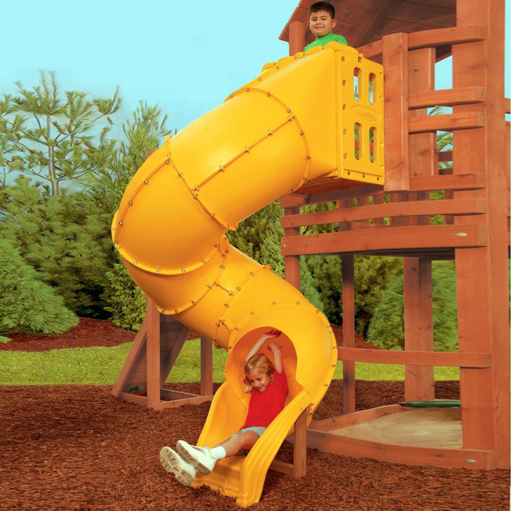 Playground Slides Tube Scoop More Swingsetmall Com