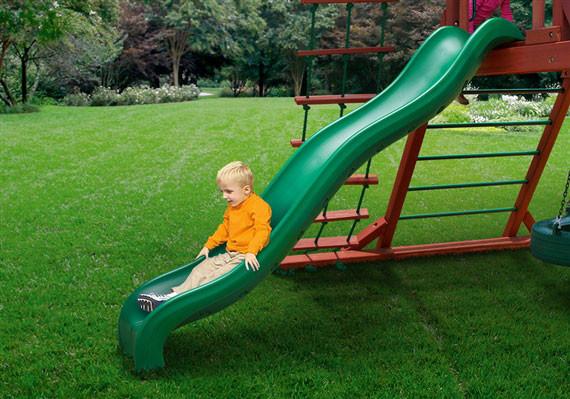 5 ft Wiki Wave Slide - Green