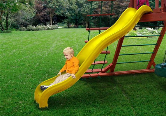 5 ft Wiki Wave Slide - Yellow