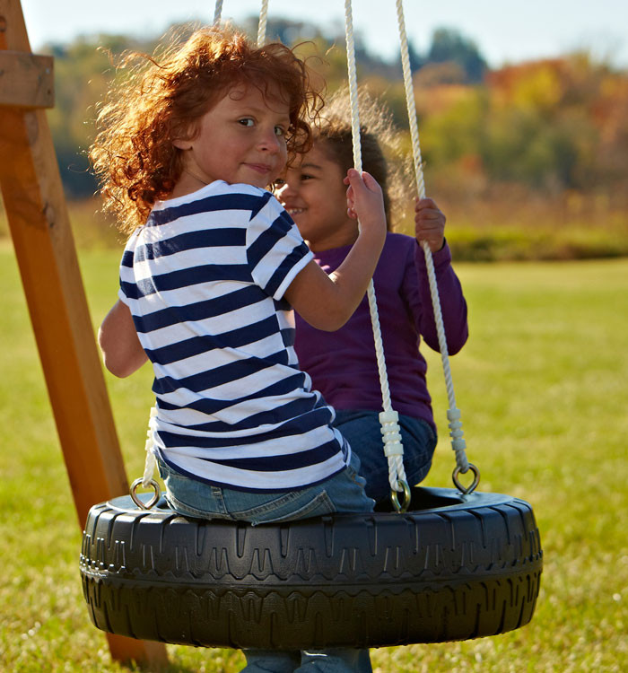 Tire Swing with Rope (WS-4317)