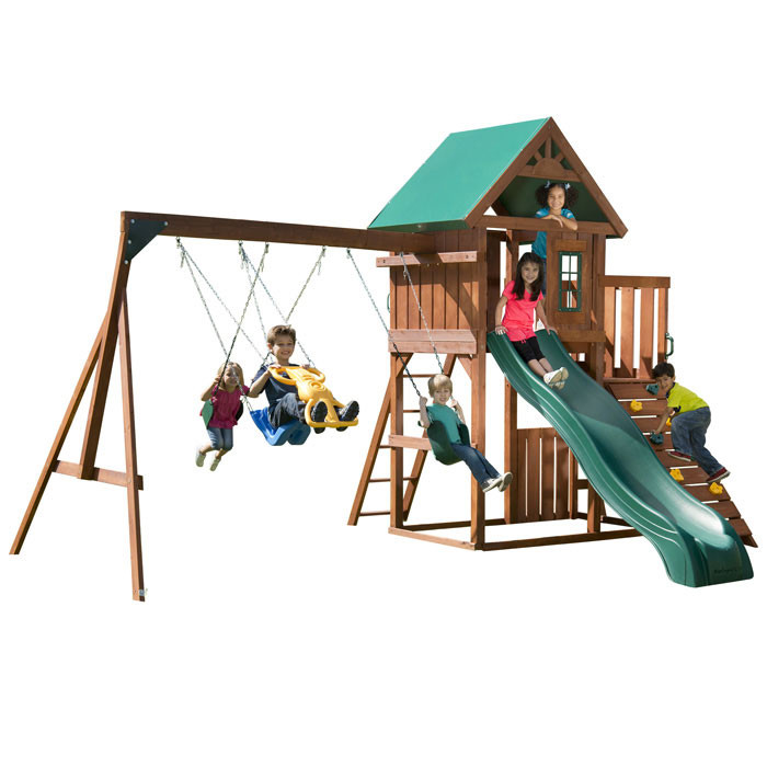 Willows Peak Complete Swing Set (PB-8281)