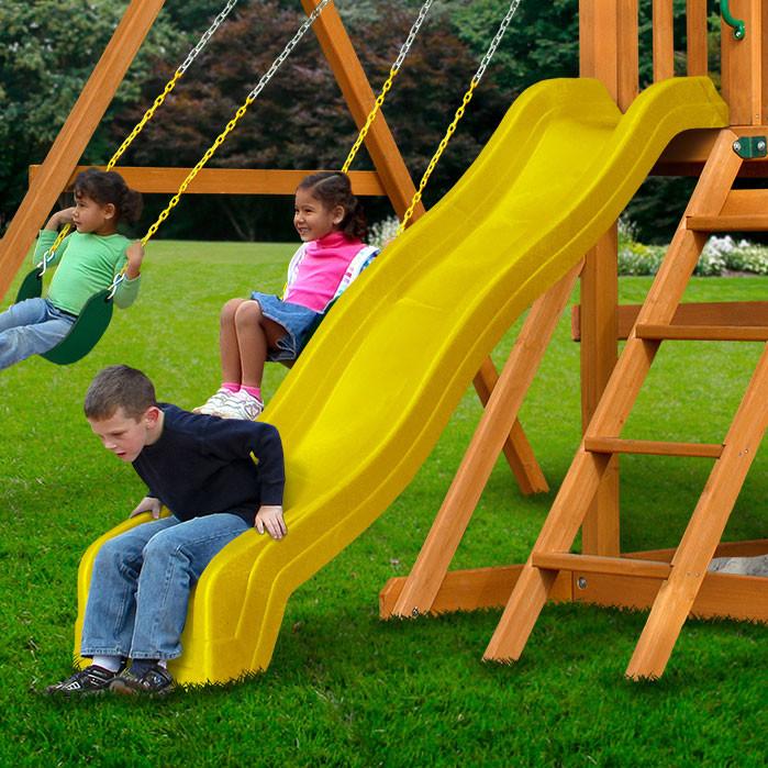 8 ft Wave Slide - Yellow