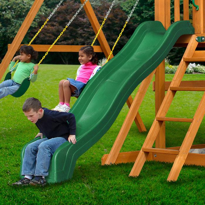 8 ft Wave Slide - Green