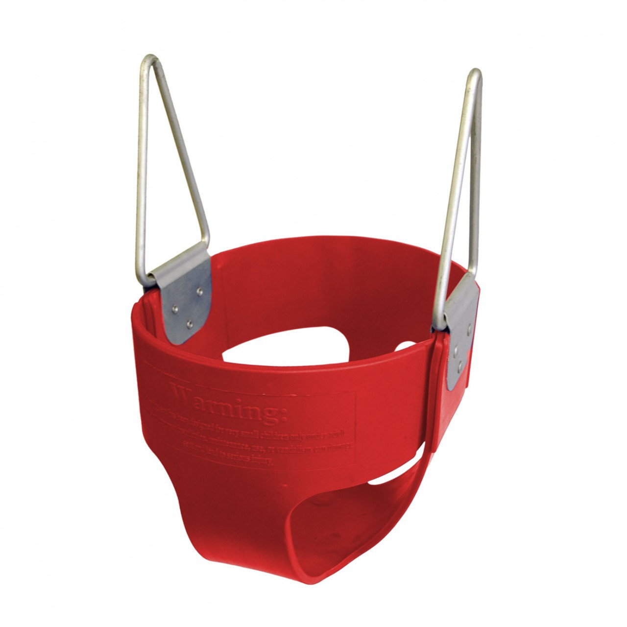 Commercial Rubber Full Bucket Swing Seat - Red