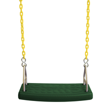 Molded Flat Swing Seat with Plastisol Chain (S-172)