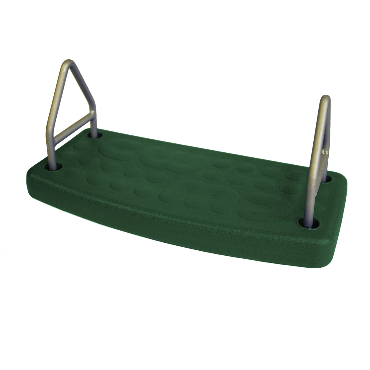 Molded Flat Swing Seat - Green
