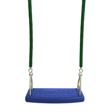 "Molded Flat Swing Seat with 5'6"" Soft Grip Chain (S-173)"