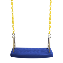 Molded Flat Swing Seat with Fully Coated Chain