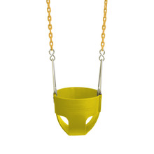 "Commercial Full Bucket Swing Seat with 5'6"" Plastisol Chain"