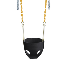 "Commercial Full Bucket Swing Seat with 8'6"" Plastisol Chain"