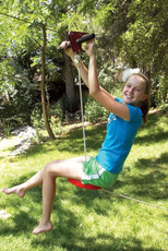 Slackers Backyard Zipline Eagle Series Set