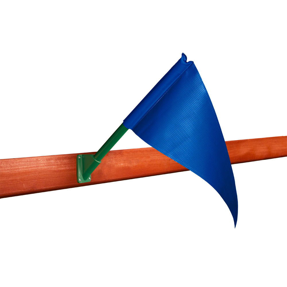 Playset Flag Kit - Blue