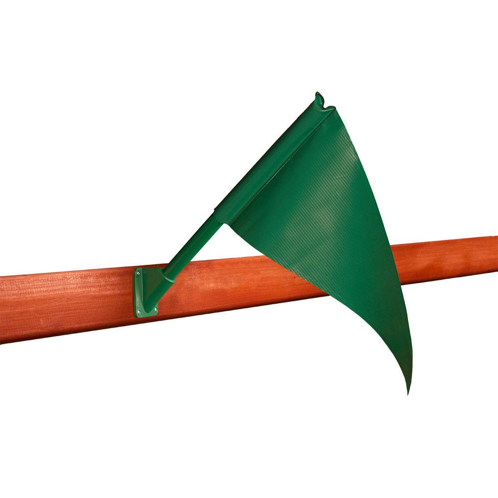 Playset Flag Kit - Green