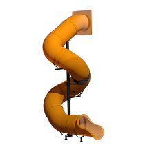 14' Spiral Tube Slide