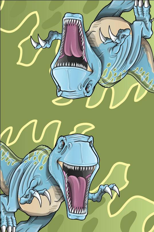 T-Rex Dino Playset Roof Tarp
