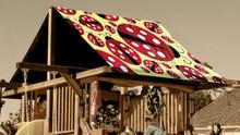 Ladybug Playset Roof Tarp