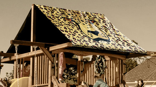 Cheetah Playset Roof Tarp