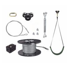 Black Raptor Zip Line Kit