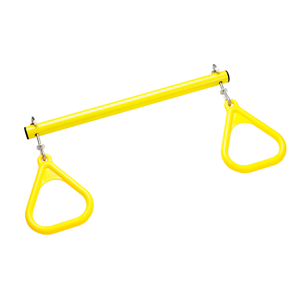 Trapeze Bar with Triangle Rings - Yellow